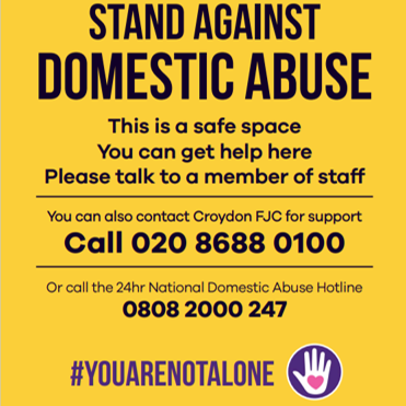 standing against domestic abuse
